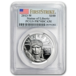 2013-W 1 oz Platinum American Eagle PCGS PR-70 First Strike