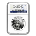 2013-W 1 oz Proof Platinum American Eagle NGC PF70 Early Releases