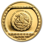 Mexico 1993 100 Pesos 1 oz Gold Proof Hacha