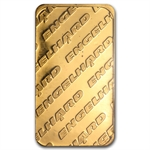 1 oz Gold Engelhard Bar ('Eagle' logo, No Assay Card) .9999 Fine