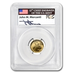 1991-P 1/10 oz Proof Gold American Eagle PR-69 PCGS John Mercanti