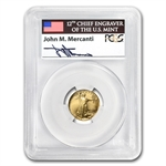 1995-W 1/10 oz Proof Gold American Eagle PR-69 PCGS John Mercanti