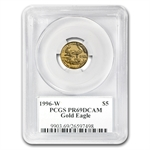 1996-W 1/10 oz Proof Gold American Eagle PR-69 PCGS John Mercanti