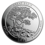 2013 5 oz Silver ATB Great Basin (Sealed Monster Box)