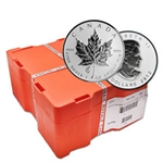 2013 1 oz Silver Maple Leaf Snake Privy 500-Coin Box Sealed