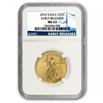 2013 1/2 oz Gold American Eagle MS-69 NGC Early Releases
