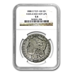 1888-O Good-6 NGC VAM-4 HOT LIPS Doubled Die Obverse Top-100