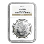 1899 Morgan Dollar - MS-63 DPL Deep Mirror Proof Like NGC