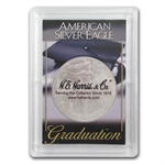 Silver American Eagle Harris Holder (Graduation Design)