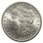 1899-S Morgan Dollar MS-66 PCGS