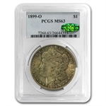 1899-O Morgan Dollar MS-63 PCGS - Nice Toning - CAC