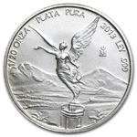 2013 1/20 oz Silver Libertad - Brilliant Uncirculated
