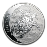 2013 5 oz Silver New Zealand Mint $10 Fiji Taku .999 Fine