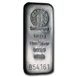 1000 gram Argor-Heraeus Silver Bar (Switzerland)