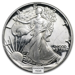 1 oz Proof Silver American Eagle Damaged (Capsule Only)