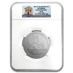 2011-P 5 oz Silver ATB Vicksburg SP-70 Early Release - NGC