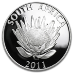 South Africa 2011 1 Rand Silver Coetzee ASW .4624