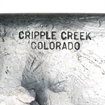 Cripple Creek Colorado - 10 oz Silver Bar .999 Fine