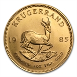 1985 1 oz Gold South African Krugerrand BU