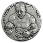 Joe Louis 4.98 oz Silver Round .999 Fine