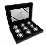 2012 GB Britannia 25th Anniv. Silver Proof Collection (FS)