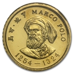China 1983 10 Yuan Marco Polo Proof Gold Coin NGC PF-68