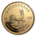 1968 1 oz Gold South Africa Krugerrand NGC PF-68 UCAM
