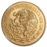 2010 Gold 200 Pesos Mexican Bicentenary Commemorative MS-69 NGC