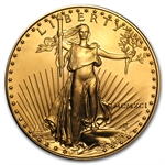 1991 MCMXCI 1 oz Gold American Eagle - Brilliant Uncirculated