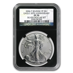2006-P (Reverse Proof) Silver Eagle PF-70 NGC (Black Core)