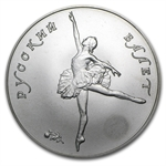 1 oz Russian Palladium Ballerina (Scruffy)