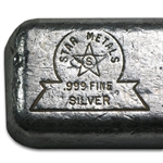 Star Metals 9.39 oz Silver Bar - .999 Fine