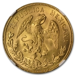 Mexico 1953 Year of Hidalgo Gold Medal MS 66 NGC