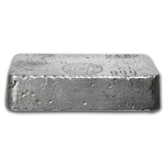 24.82 oz Yellow Daisy Refining Co. Silver Ingot Bar .999 Fine