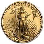 2001 1/10 oz Gold American Eagle - Brilliant Uncirculated