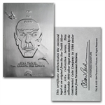 Star Trek .9999 Fine 1 oz Silver Ingot Bar (Various)