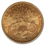 1902 $20 Gold Liberty Double Eagle - AU-55 PCGS