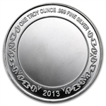 2013 1 oz Confirmation Silver Round (w/Gift Box & Capsule)