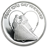 2013 1 oz Wedding Silver Round (w/Gift Box & Capsule)