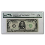 1934-A (G-Chicago) $1,000 FRN (PMG About Uncirculated 55)