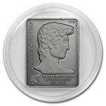 Cook Islands 2010 Silver $5 Sculptures - Michelangelo's David