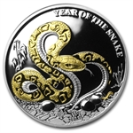 Togo 2013 Proof Silver 1,000 Francs CFA Year of the Snake