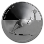 2012 1 oz Australian Proof Silver Kangaroo in Outback F15 Privy