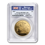 Great Britain 2007 Gold 5 Pounds Gold PCGS PR-70DC