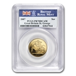 Great Britain 2007 Gold Sovereign PCGS PR-70DC