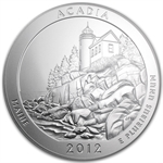 2012-P 5 oz Acadia SP-70 First Strike PCGS