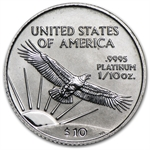 2003 1/10 oz Platinum American Eagle - Brilliant Uncirculated