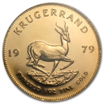 1979 1 oz Gold South African Krugerrand NGC MS-67