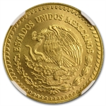 1993 1/2 oz Gold Mexican Libertad MS-68 NGC