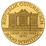 1995 1 oz Gold Austrian Philharmonic - Brilliant Uncirculated